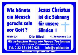 Christlicher Plakatdienst