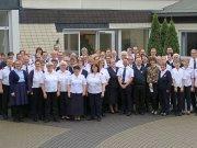 Gruppenbild der Leiterkonferenz-Teilnehmer 2019 in Burbach.