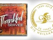 "Jubiläums-CD ""Thankful Service"" der German Staff Band"