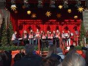 Chor der Heilsarmee auf dem Kölner Weihnachtsmarkt