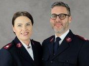 Majore Camilla und Steven Thomas
