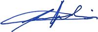 Signatur Oberst Hervé Cachelin